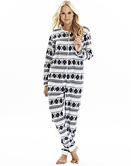 Pretty Secrets MicroFleece Onesie,Fairis
