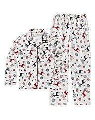 Pretty Secrets Deer Print Woven Pyjamas
