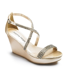 Joanna Hope Wedge Sandals E Fit