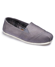 Easy to Wear Canvas Slip on Pumps