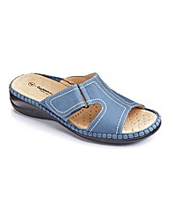 Cushion Walk Open Toe Mules E Fit