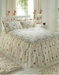 Poppy Fitted Bedspread
