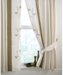 Ravona Lined Curtains Tie Backs