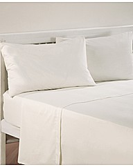 Cotton Percale Housewife Pillowcases