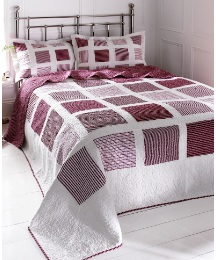Benedict Quilted Throwover Set