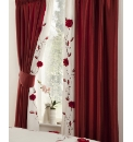 Adele Lined Curtains & Tie Backs