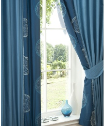 Elegance Lined Curtains & Tie Backs