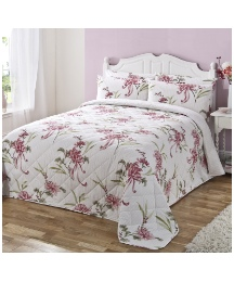 Harriett Large Quilted Throwover Single