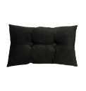 Velvet Button Filled Cushion