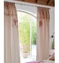 Martinique Lined Curtains Tie Backs