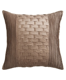 Lattice Square Filled Cushion