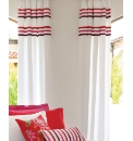 Auvergne Lined Curtains/ Tie Backs