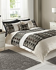 Neuville Emblellished Duvet Cover Set