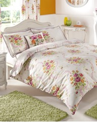 Vintage Bouquet Duvet Cover Set