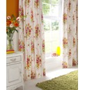 Vintage Bouquet Unlined Curtains