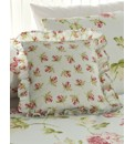 Ava Square filled Cushion By Janet Reger