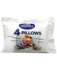 Silentnight Hippo & Duck Pack 4 Pillows