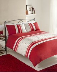 Chicago Embroidered Duvet Cover Set