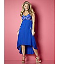 Claire Sweeney Dipped Hem Dress