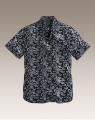 Williams & Brown S/S Floral Print Shirt