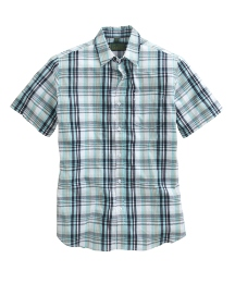 Williams & Brown S/S Check Shirt Long