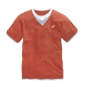 Williams & Brown V-Neck Layer Tee