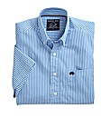 Raging Bull Short Sleeve Stripe Shirt