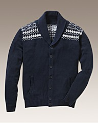 Williams & Brown Fairisle Shawl Neck