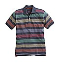 Peter Gribby Stripe Polo