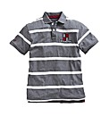 Raging Bull Stripe Polo