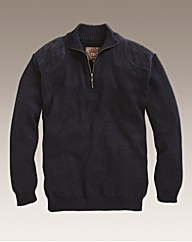 Williams & Brown 1/4 Zip Jumper