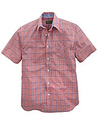 Williams & Brown S/S Gingham Shirt