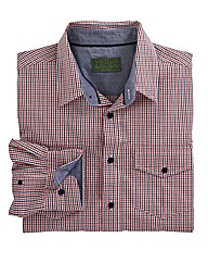 Williams & Brown L/S Gingham Check Shirt