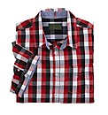 Williams & Brown Contrast Check Shirt