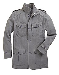 Williams & Brown Military Coat