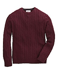 Williams & Brown Cable Crew Jumper