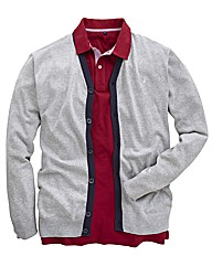 Williams & Brown Contrast Cardigan