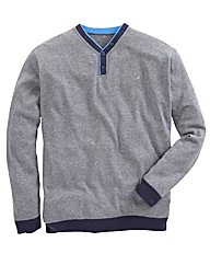 Williams & Brown Y Neck Jumper