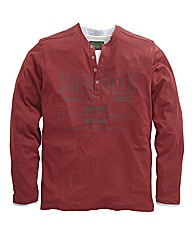 Williams & Brown L/S Grandad Top