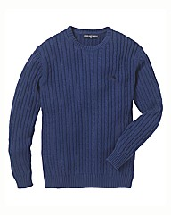 Raging Bull Cable Crew Jumper