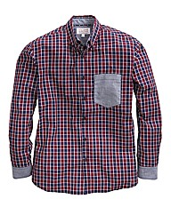 Williams & Brown Contrast Pocket Shirt