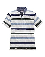 Williams and Brown Stripe Polo
