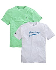 Raging Bull Pack of 2 T-Shirts