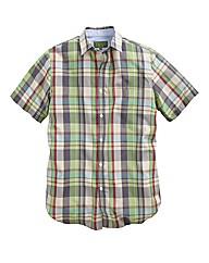 Williams & Brown Check Shirt Long