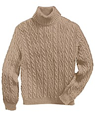Williams & Brown Roll Neck Jumper