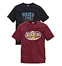 Weird Fish Pack 2 T-Shirts