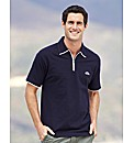 Weird Fish Zip Neck Polo