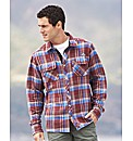 Weird Fish Brushed Check Shirt