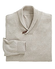 Williams and Brown Shawl Neck Jumper