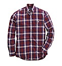 Raging Bull Long Sleeve Check Shirt